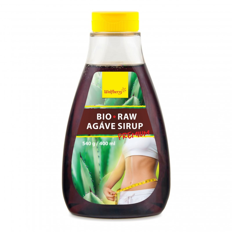 Wolfberry BIO Agáve sirup Premium RAW 400 ml