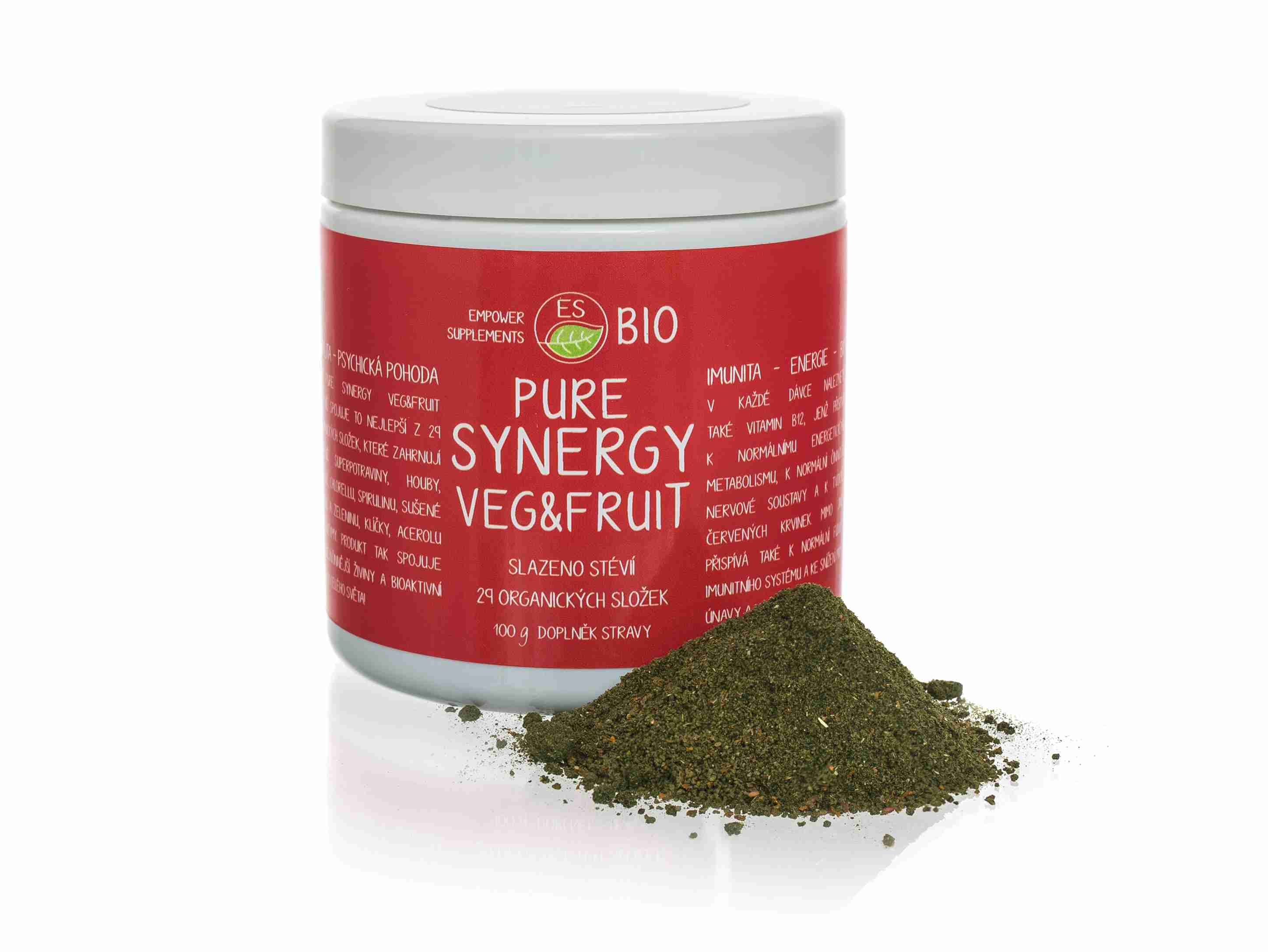 Empower Supplements ES Bio Pure Synergy Veg&Fruit 100 g