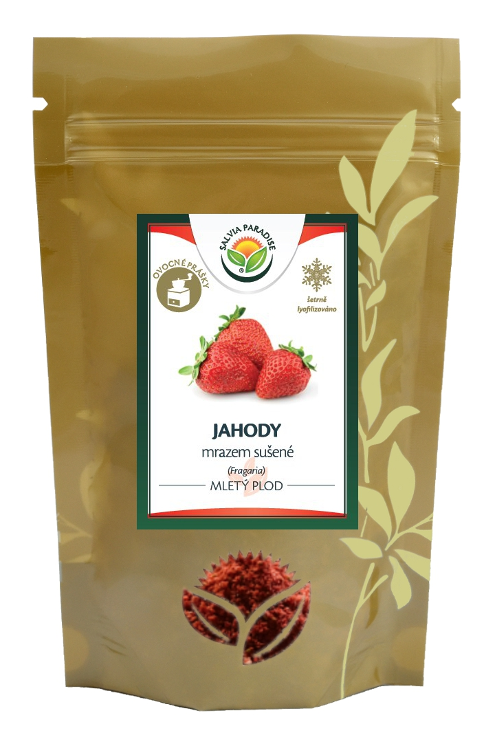 Salvia Paradise Jahody mleté sušené mrazem - lyofilizované 50 g