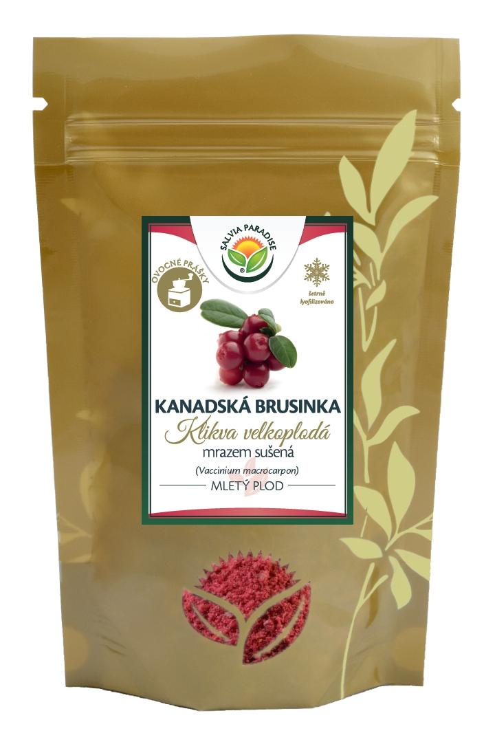 Salvia Paradise Kanadská brusinka mletá sušená mrazem - lyofilizovaná 50g