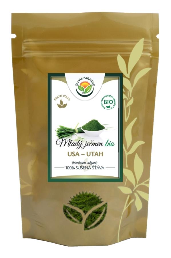 Salvia Paradise Mladý zelený ječmen - 100% sušená šťáva Balení: 50 g