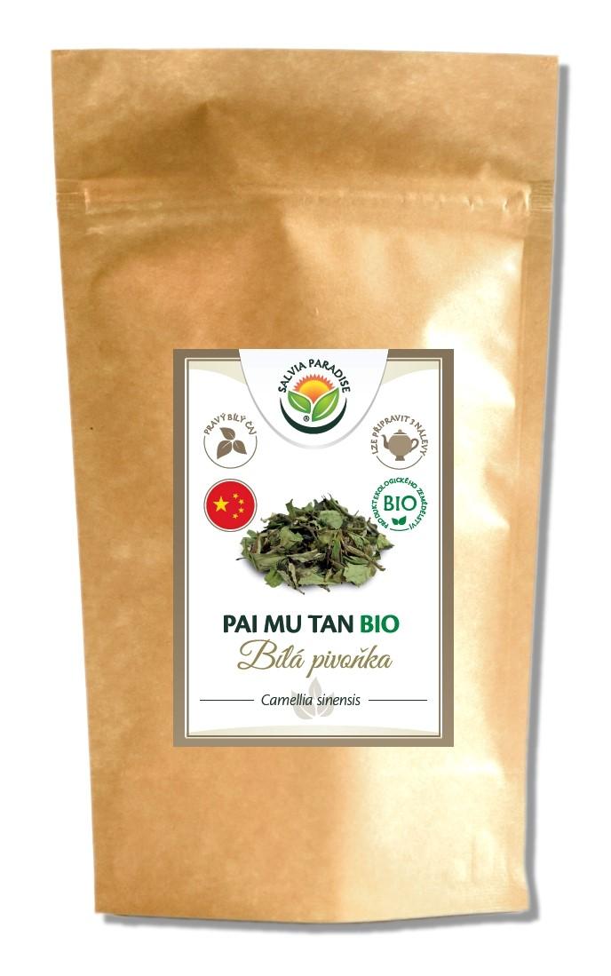 Salvia Paradise Pai Mu Tan - Bílá pivoňka BIO Balení: 15 g