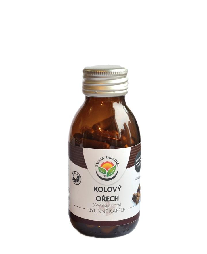 Salvia Paradise Cola acuminata - kolový ořech kapsle Balení: 120 ks