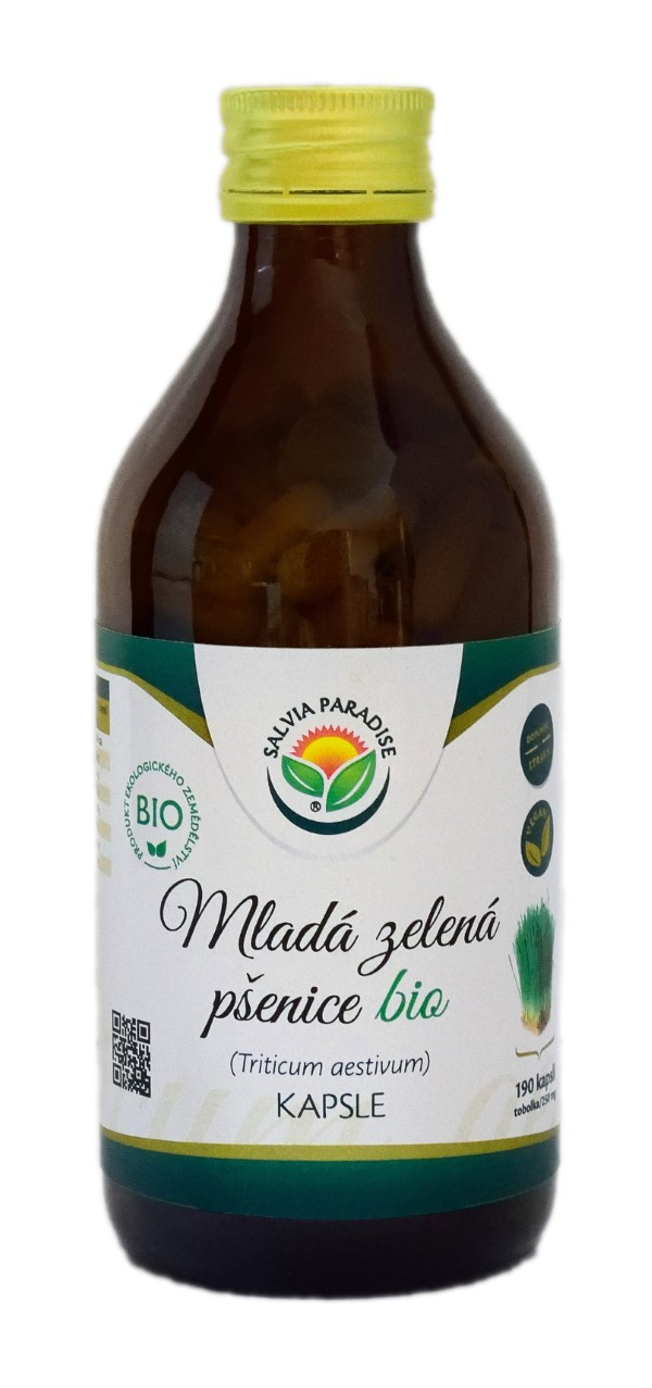 Salvia Paradise Mladá zelená pšenice kapsle 190 ks