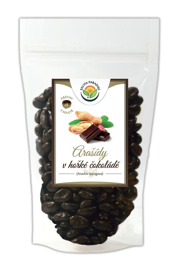 Salvia Paradise Arašídy v hořké čokoládě Balení: 150 g