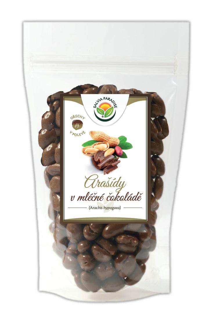 Salvia Paradise Arašídy v mléčné čokoládě Balení: 150 g