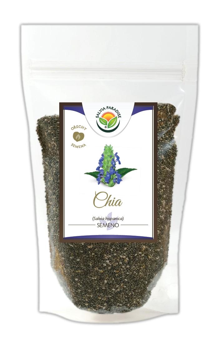Salvia Paradise Chia semínka - Salvia hispanica Balení: 100 g