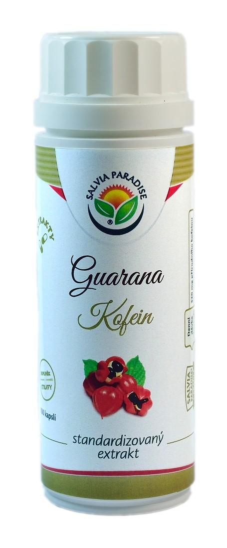 Salvia Paradise Guarana - kofein standardizovaný extrakt kapsle 100 ks