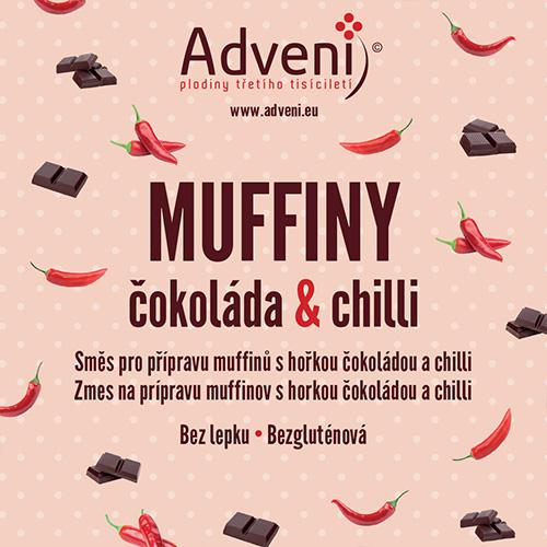 Adveni Muffiny čokoláda & chilli 280 g