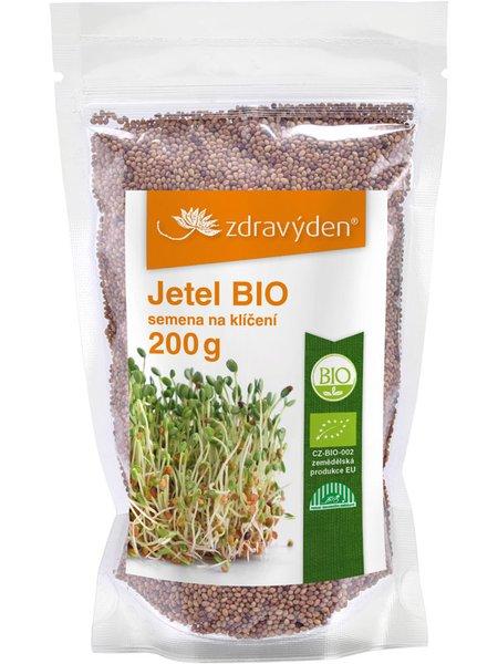 ZdravýDen® BIO Jetel - semena na klíčení 200 g