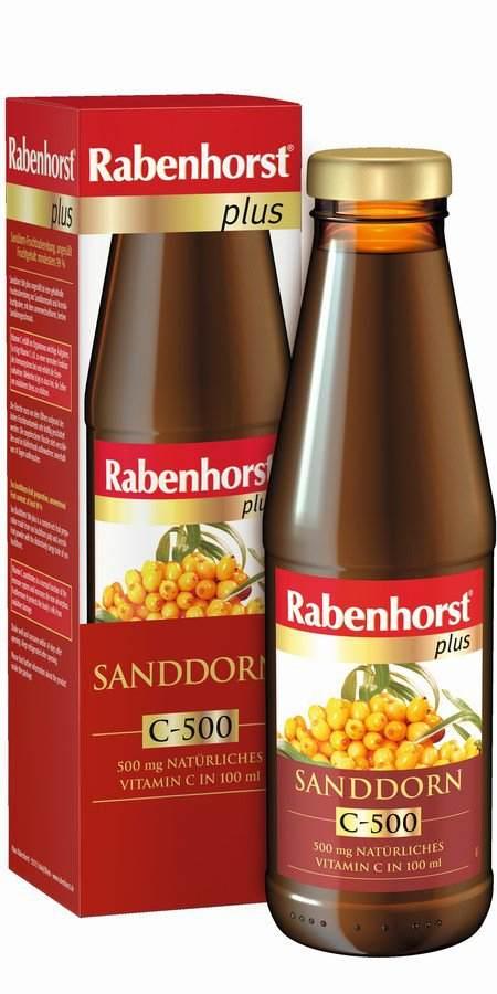 Rabenhorst Rakytník C-500 plus slazený 450 ml