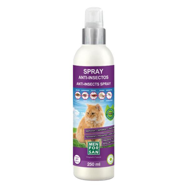 Menforsan Antiparazitní sprej pro kočky proti blechám a klíšťatům s extraktem z margosy 250 m