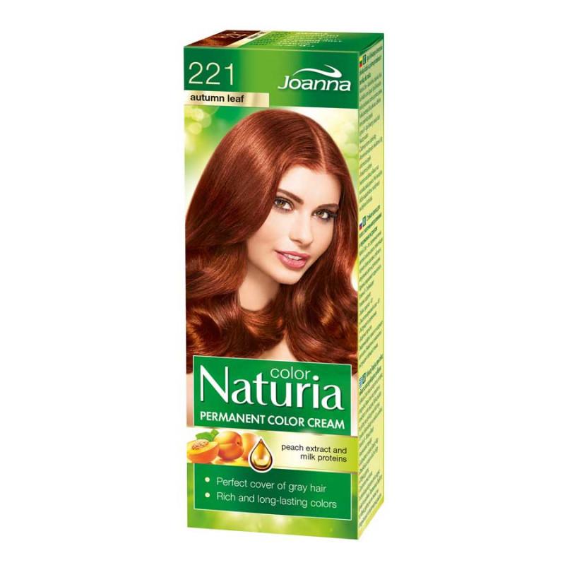 Joanna Naturia Color Permanentní barva na vlasy 100 g Odstín: 221 Měděná