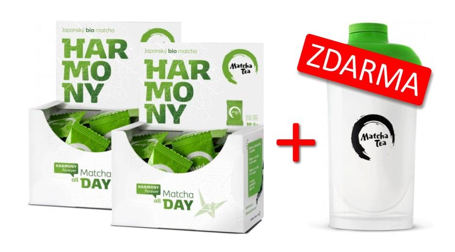 Akce 2x Bio Matcha tea Harmony 30x2 g
