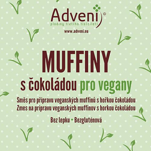 Adveni Muffiny s čokoládou pro vegany 280 g