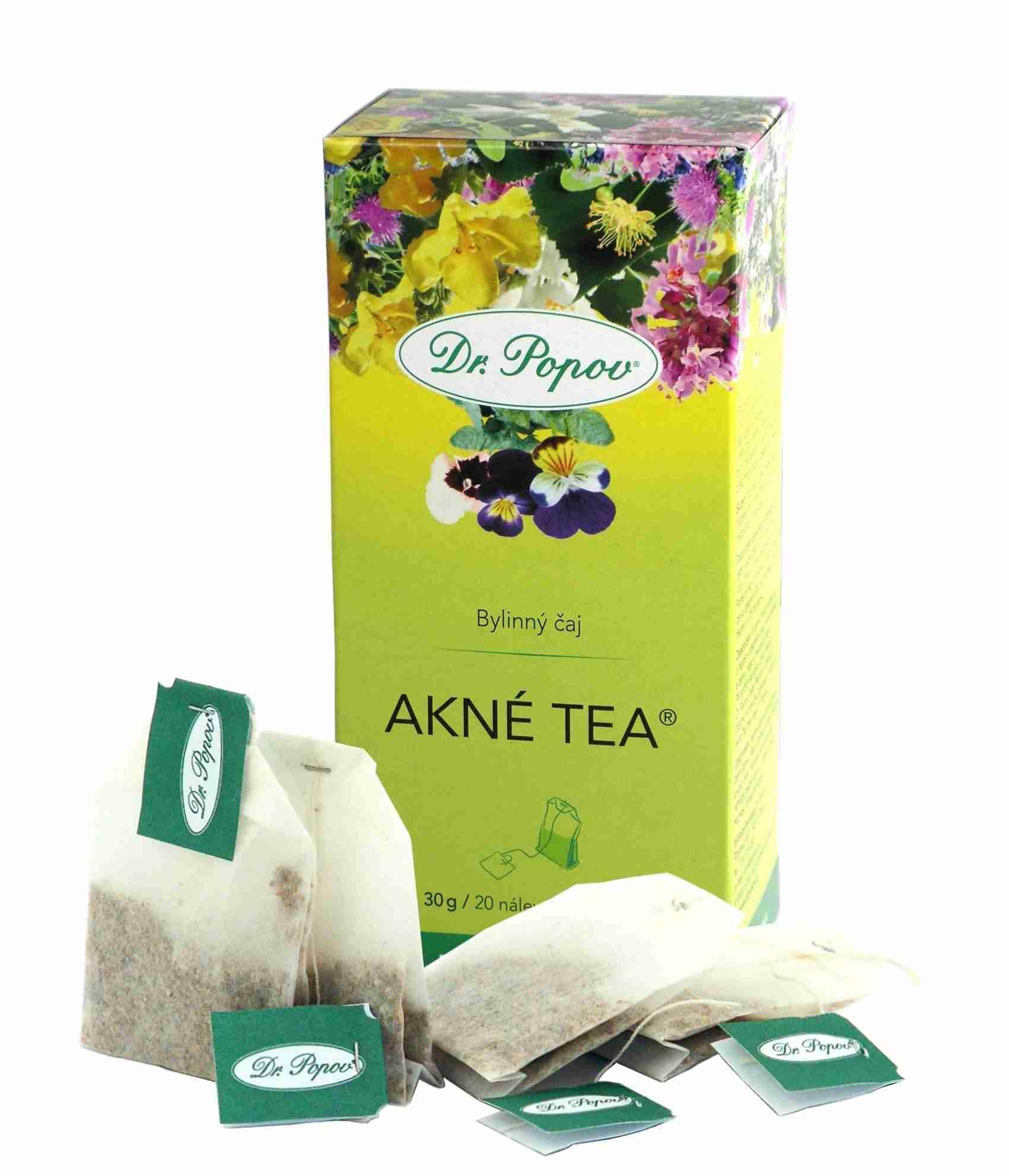 Dr. Popov Akné tea 30g