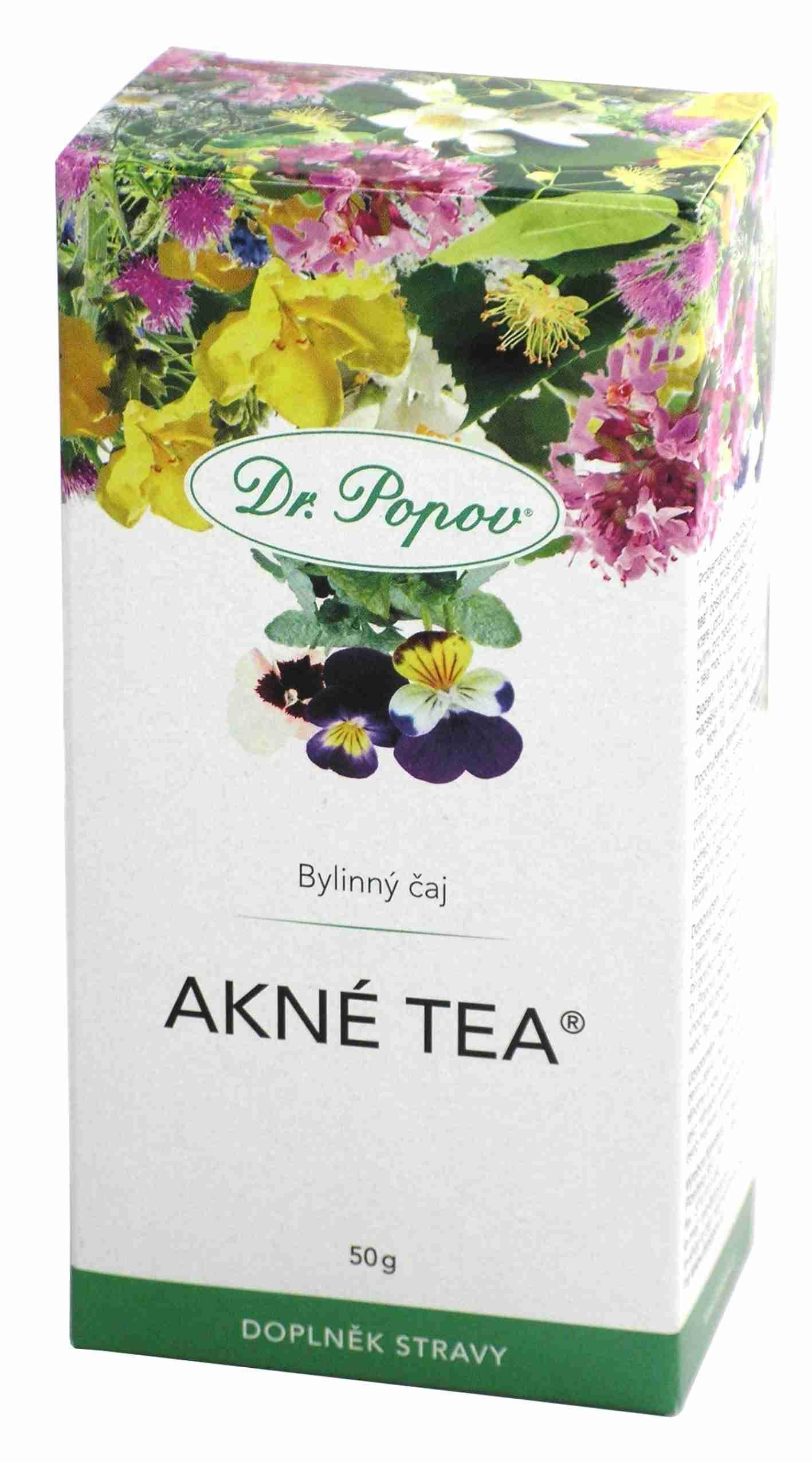 Dr. Popov Akné tea sypaný 50g