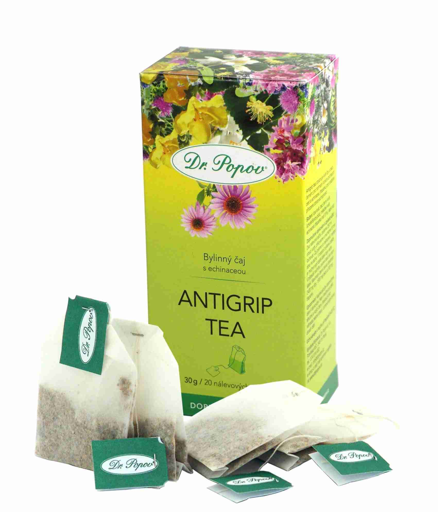 Dr. Popov Antigrip tea 20 n.s.