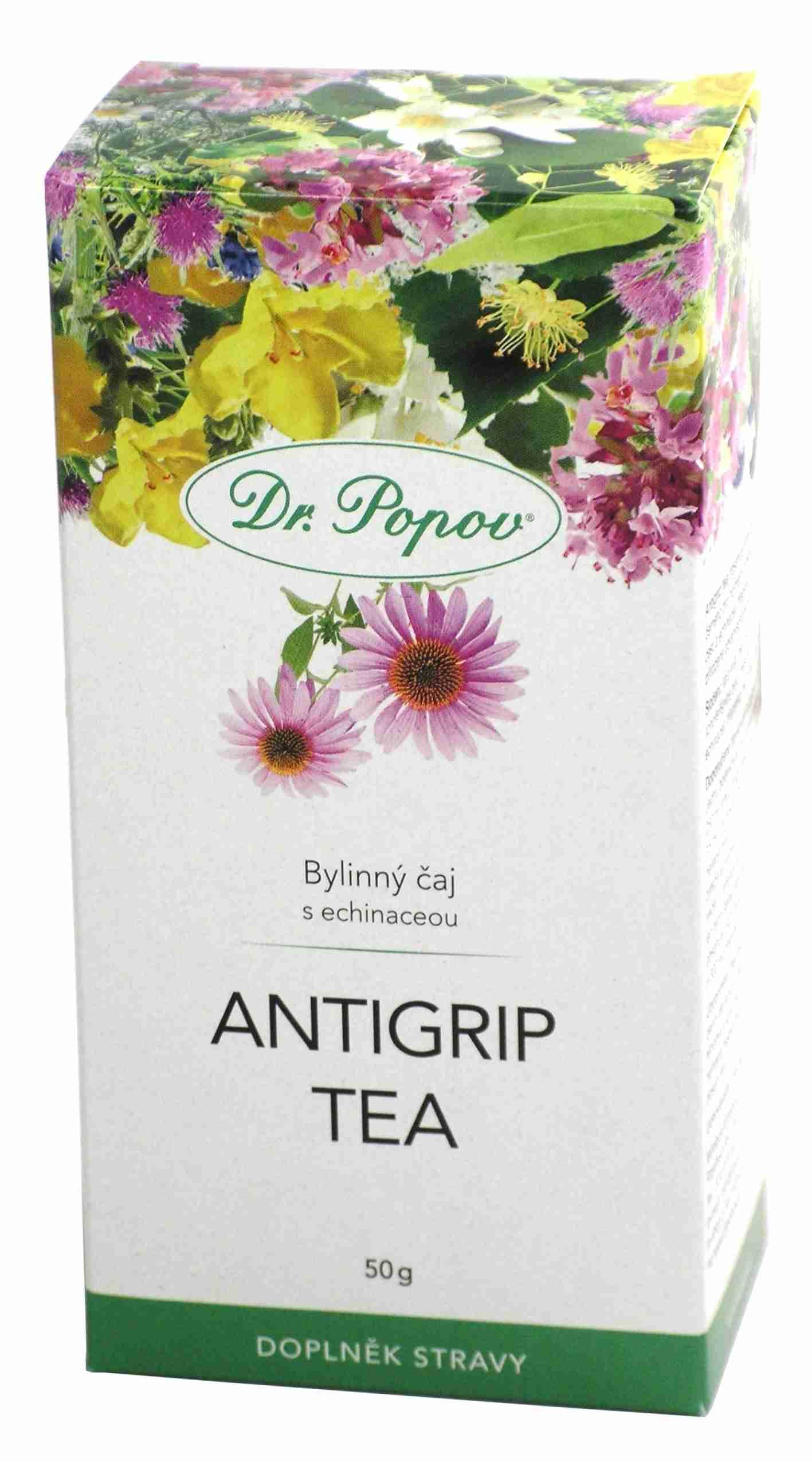 Dr. Popov Antigrip tea sypaný 50 g