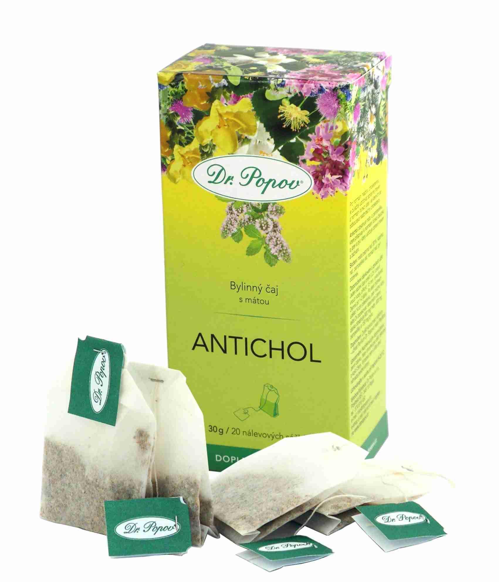 Dr. Popov Antichol tea 20 n.s.