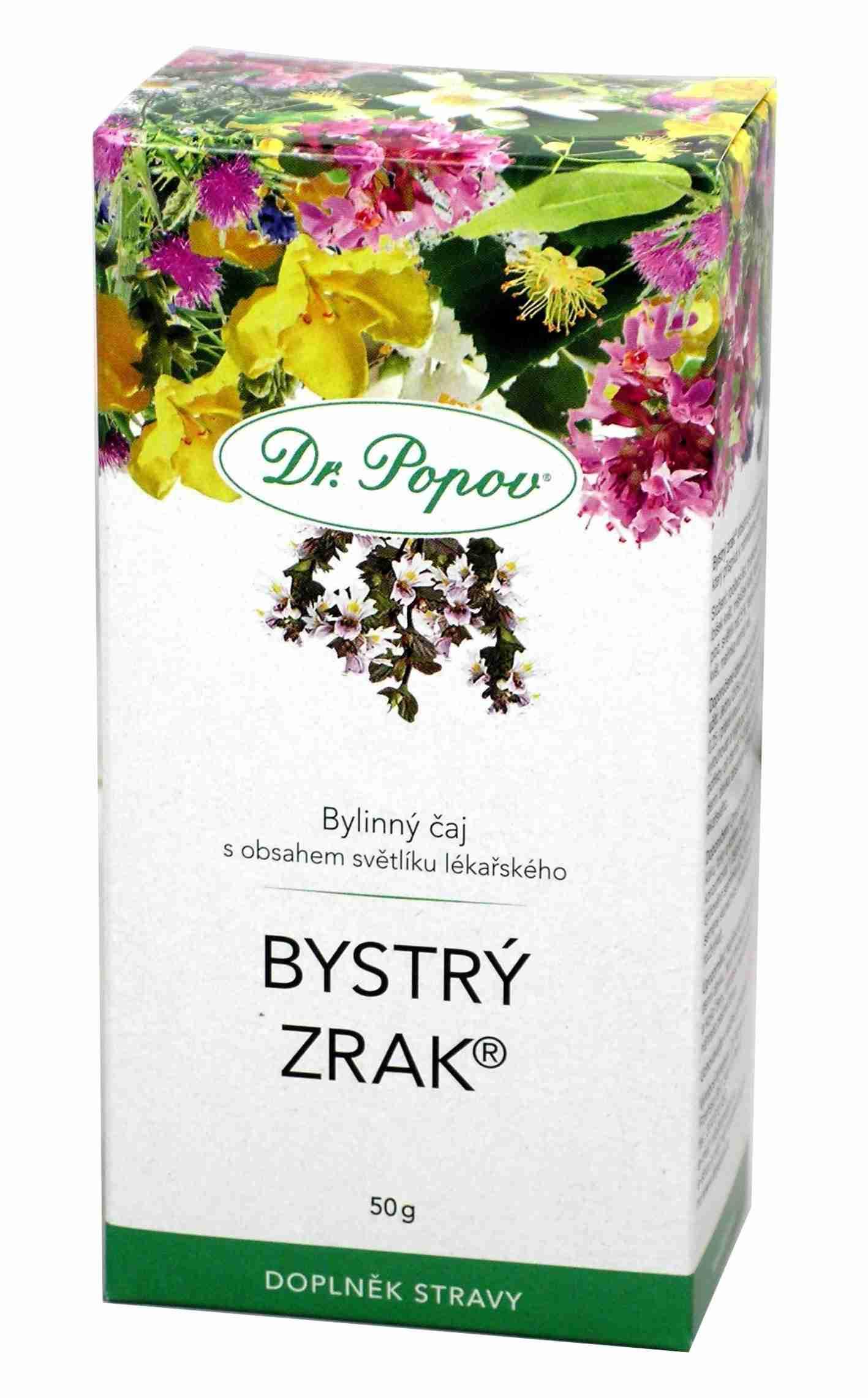 Dr. Popov Bystrý zrak tea sypaný 50g