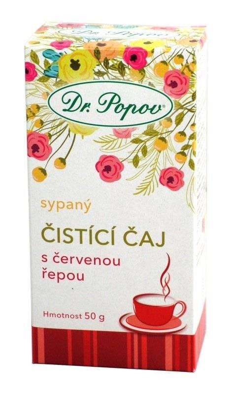 Dr. Popov Čisticí čaj s červenou řepou 50g