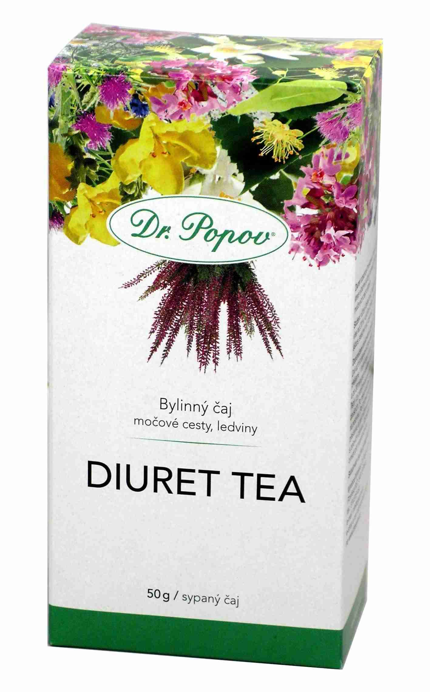 Dr. Popov Diuret tea sypaný 50 g