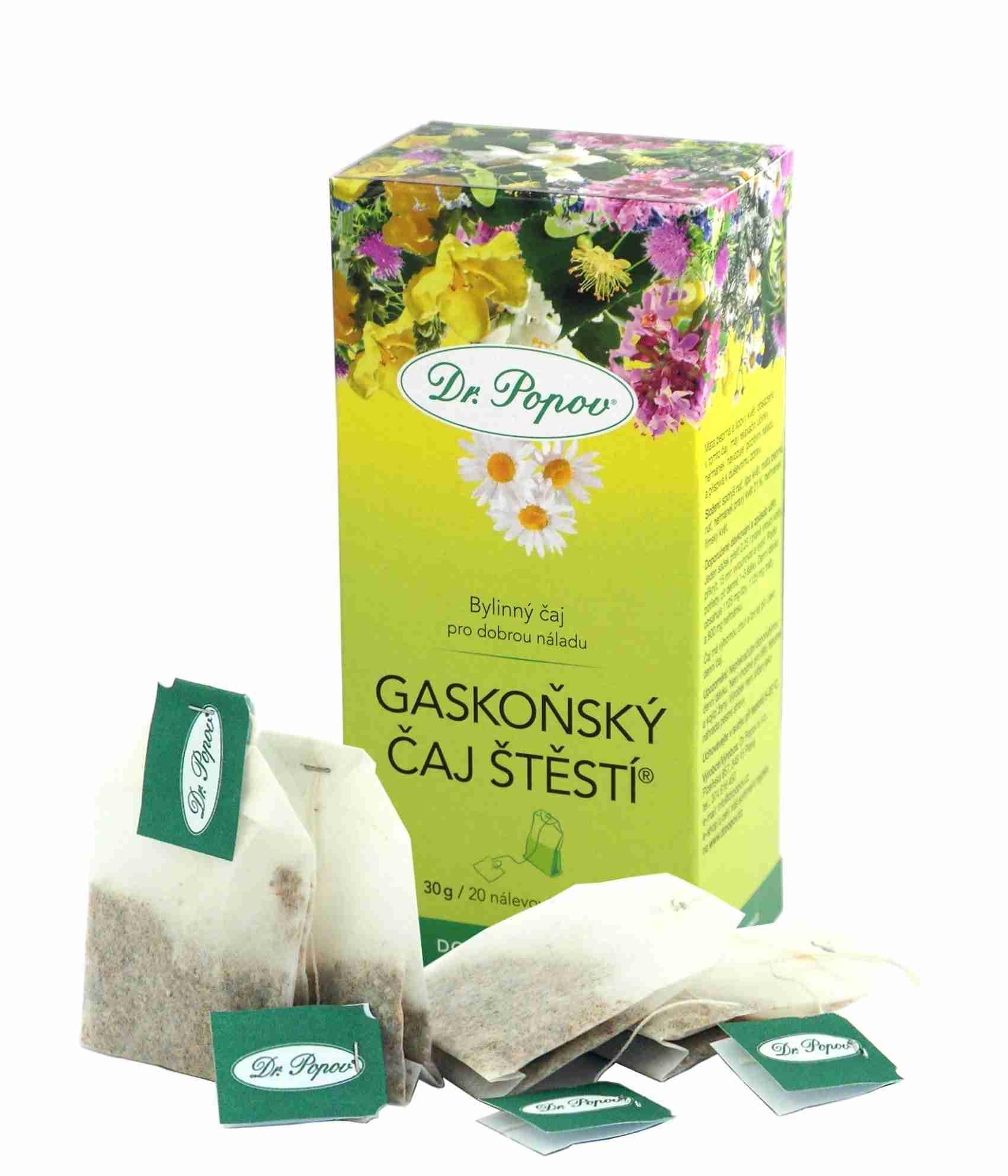 Dr. Popov Gaskoňský čaj štěstí 20 n.s.