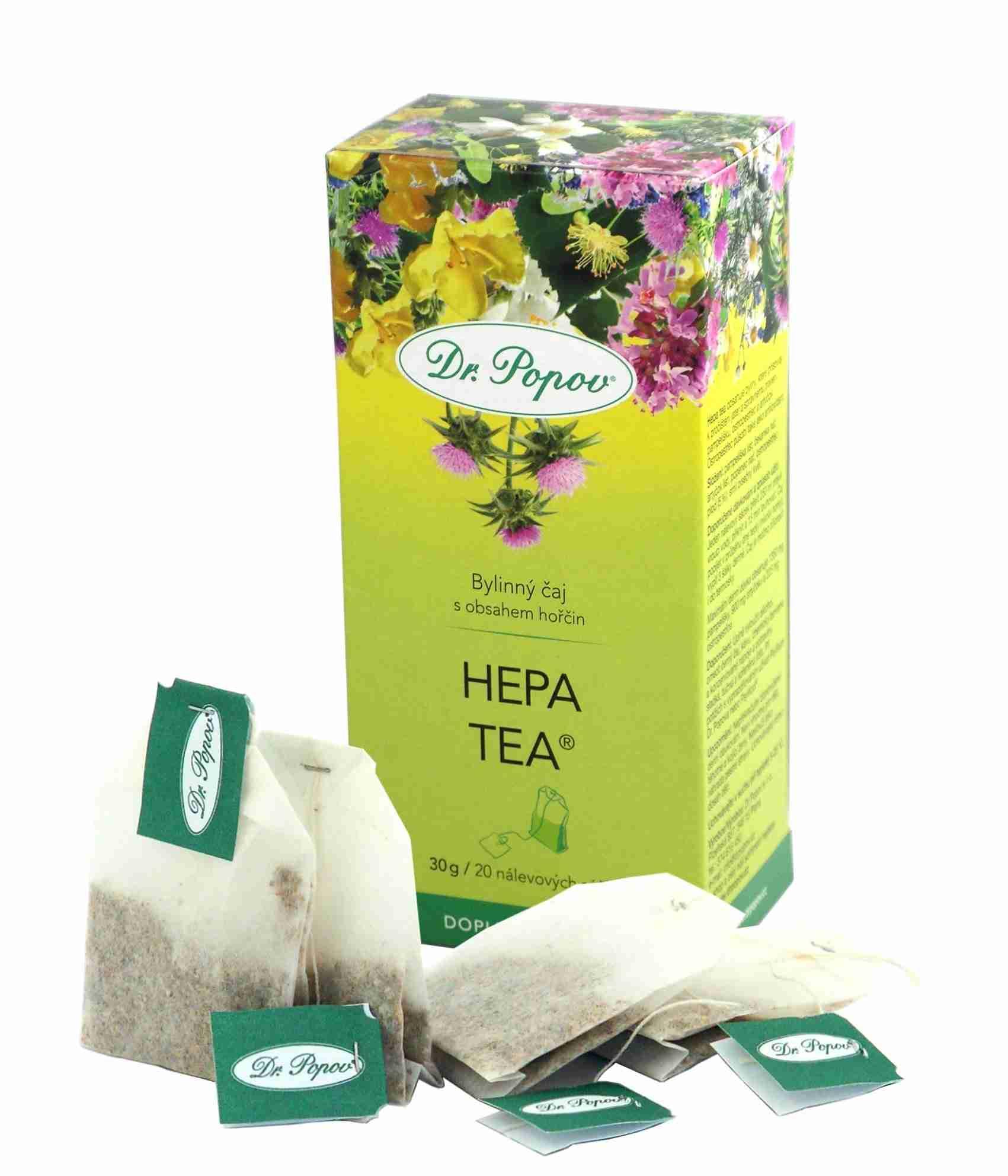 Dr. Popov Hepa tea 30g