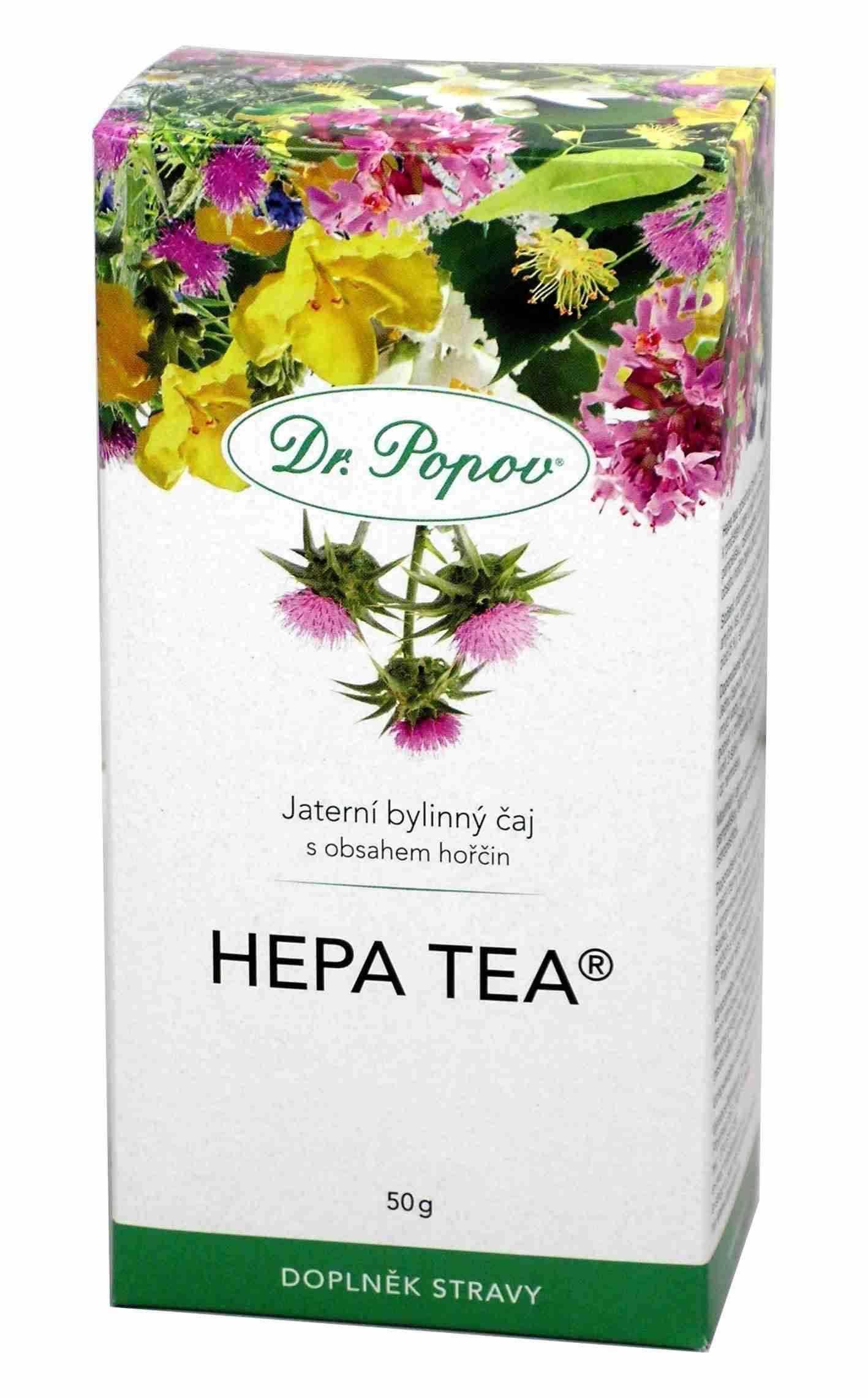 Dr. Popov Hepa tea sypaný 50g