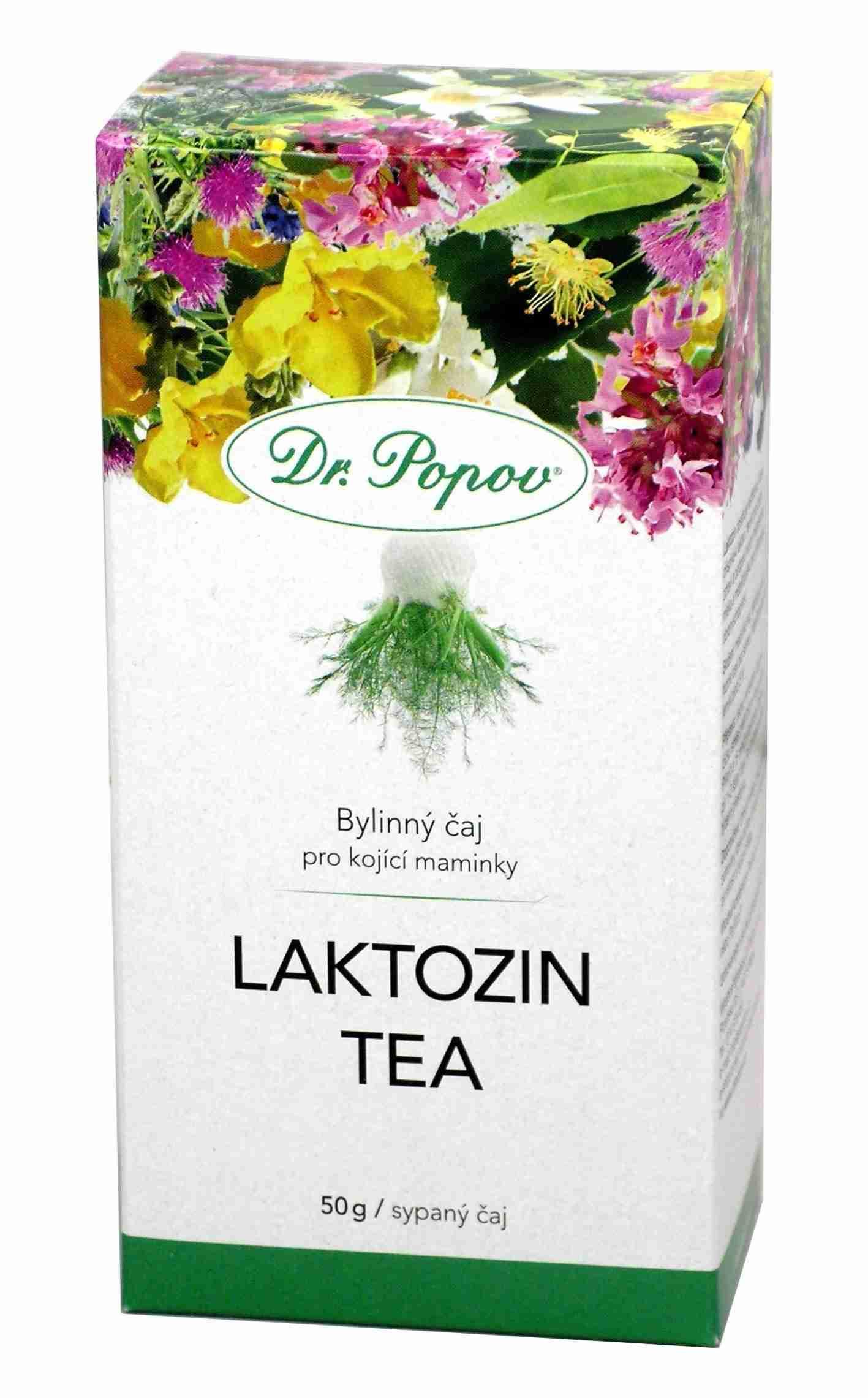 Dr. Popov Laktozin tea sypaný 50 g