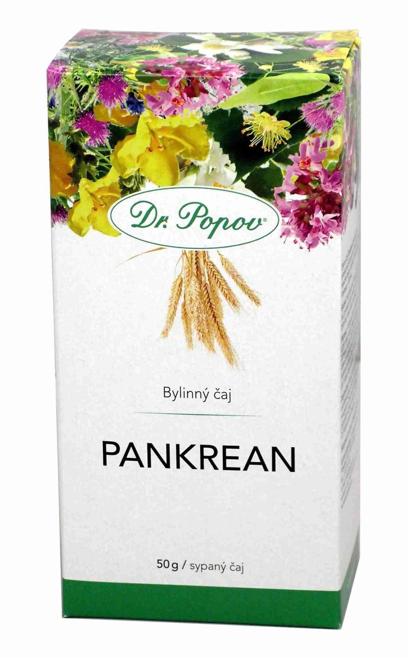 Dr. Popov Pankrean sypaný 50 g