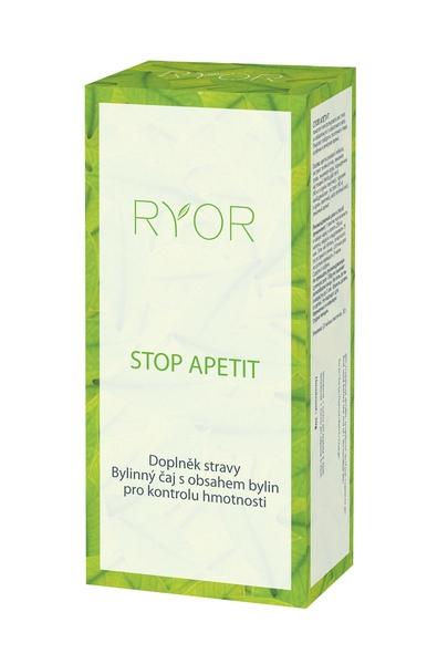 Dr. Popov Ryor Stop apetit bylinný čaj 20x1.5g