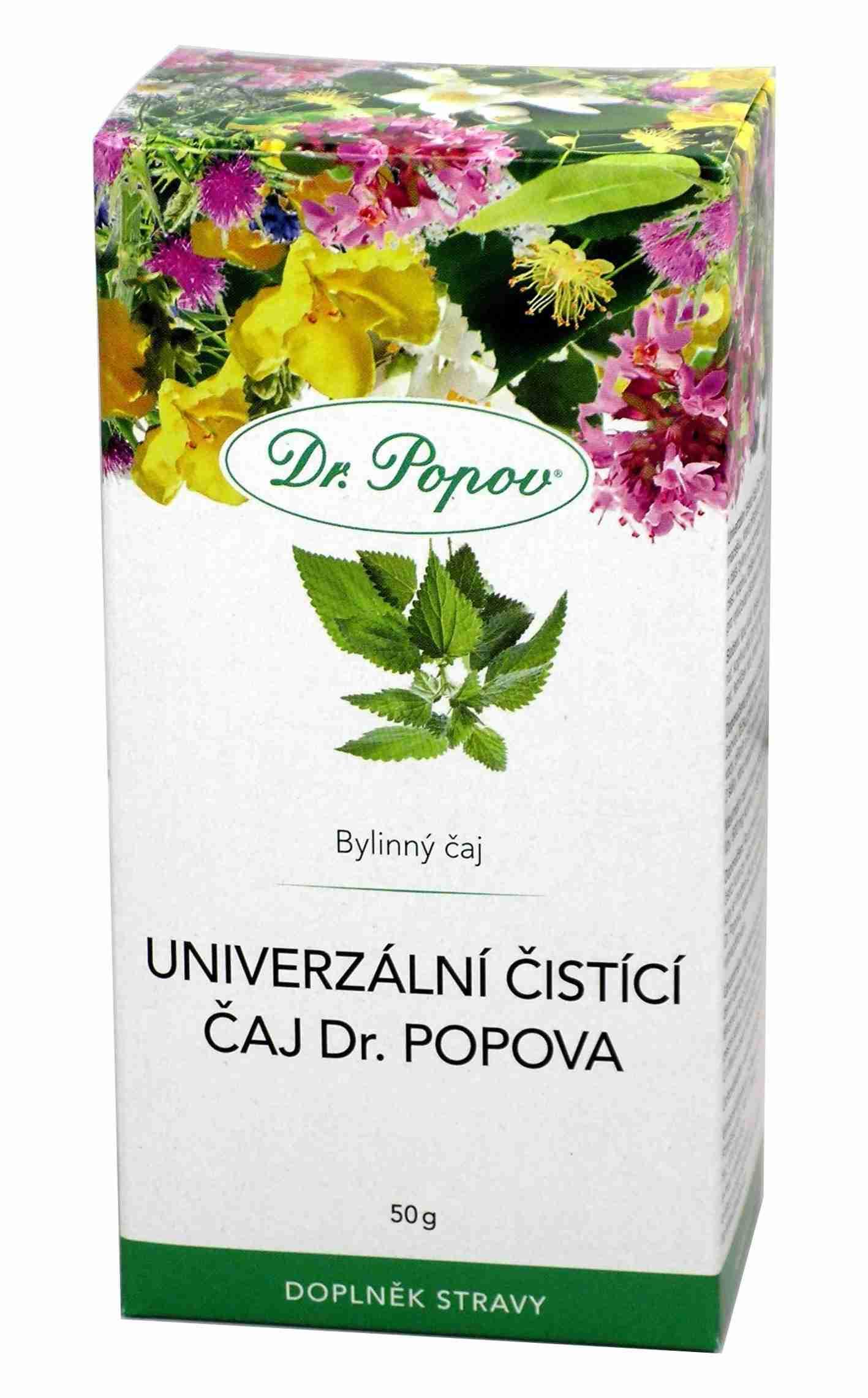 Dr. Popov Univerzální čisticí čaj 50g