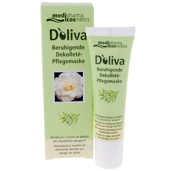 Doliva uklidňující maska na dekolt při slunečních alergiích 30 ml