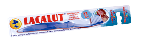 Lacalut dětský zubní kartáček 4+