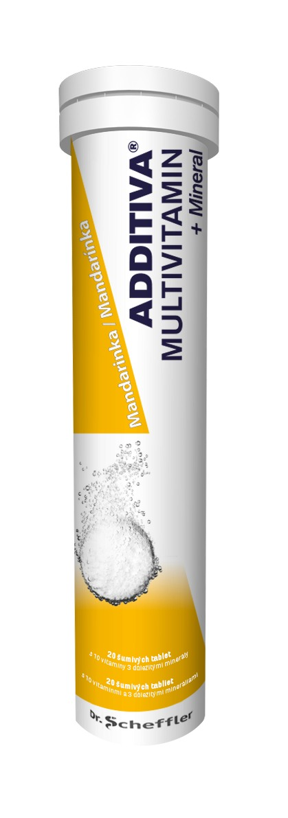 Additiva Multivitamin + Mineral Mandarinka 20 tbl.