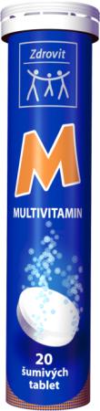 NP Pharma Ostrow Mazowiecka Zdrovit Multivitamin šumivé tablety s příchutí pomeranče 20 tbl.