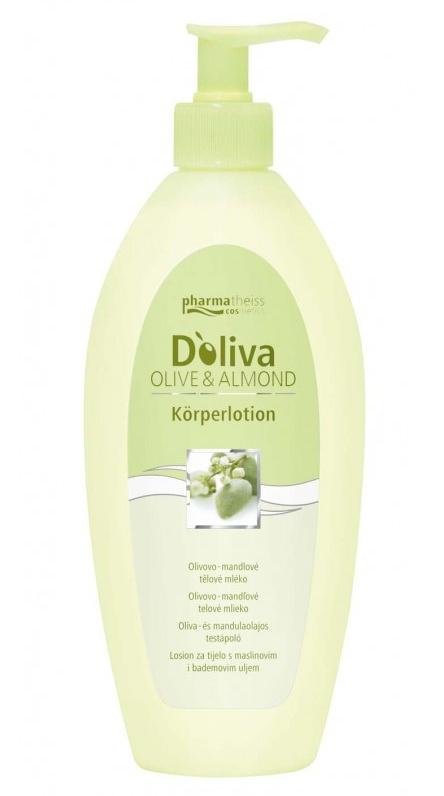 Doliva Olivovo-mandlové tělové mléko s dávkovačem 500 ml