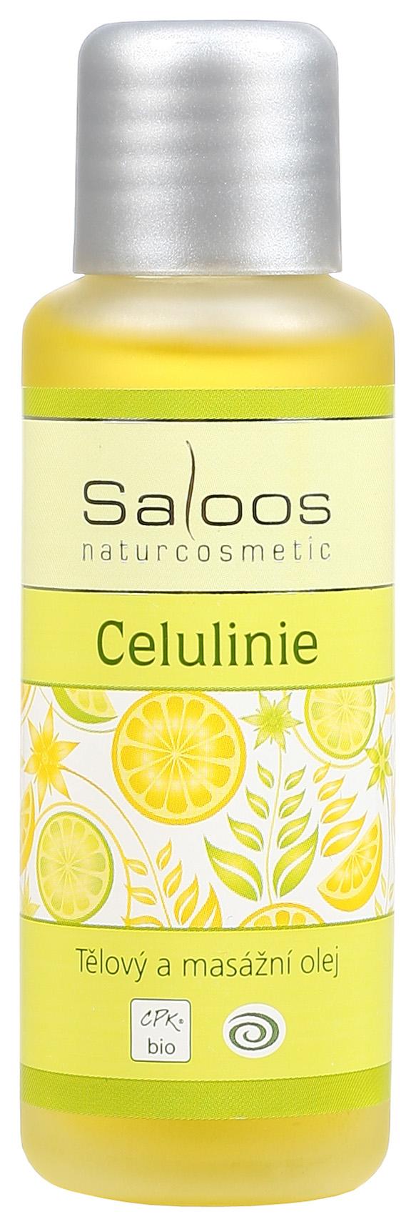 Saloos Bio Celulinie - tělový a masážní olej 50ml