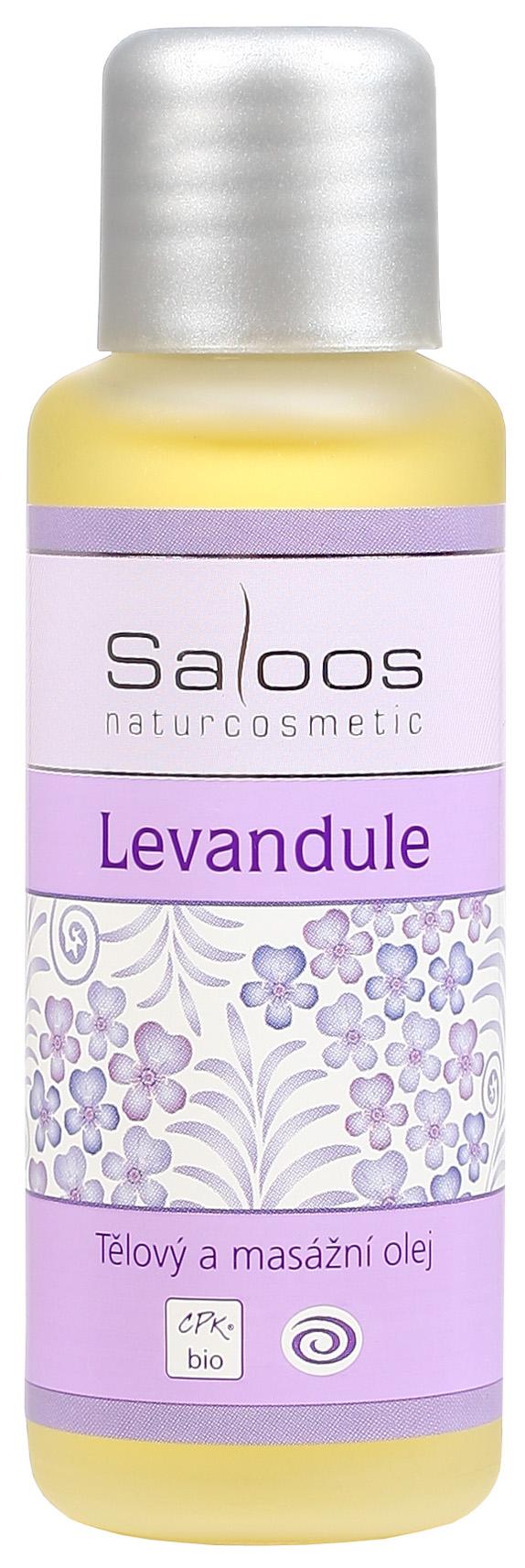 Saloos Bio Levandule - tělový a masážní olej 50ml
