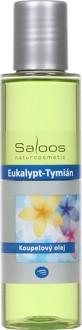 Saloos Eukalypt–Tymián - koupelový olej 125 ml