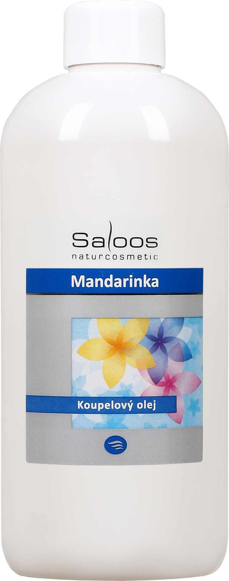 Saloos Mandarinka - koupelový olej Balení: 500 ml