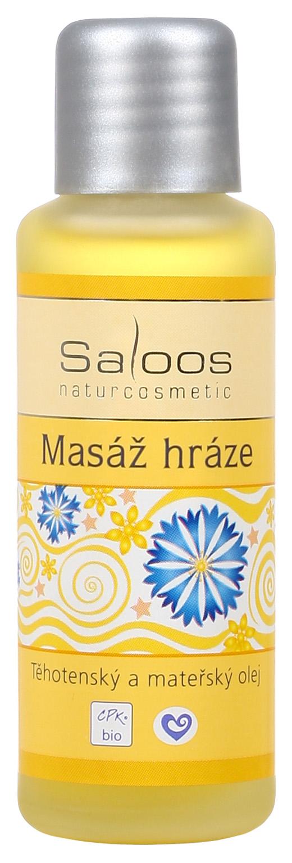 Saloos Bio Olej na masáž hráze 50ml