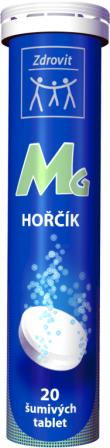 NP Pharma Ostrow Mazowiecka Zdrovit Hořčík šumivé tablety s příchutí citron 20 tbl.