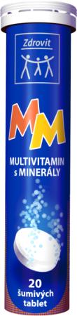 Zdrovit Multivitamin + minerály s příchutí mandarinky 20 tbl.