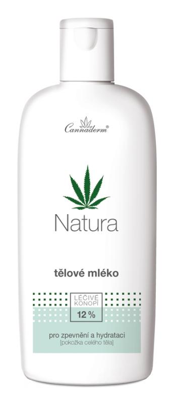 Cannaderm Bio Tělové mléko vyživující Natura 200 ml