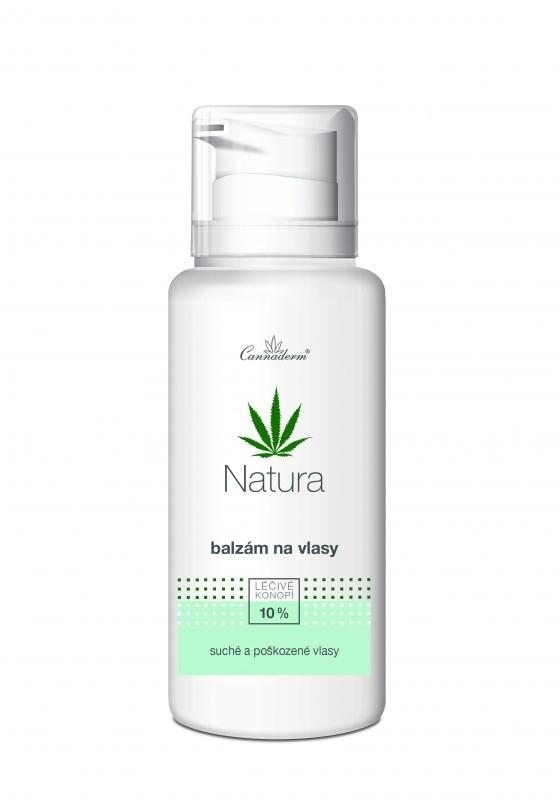 Cannaderm Balzám na vlasy Natura 200 ml