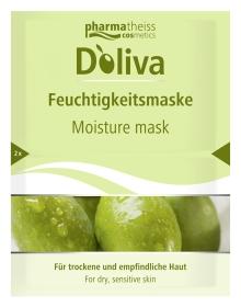 Doliva Olivová hydratační maska na suchou a citlivou pokožku 15 ml