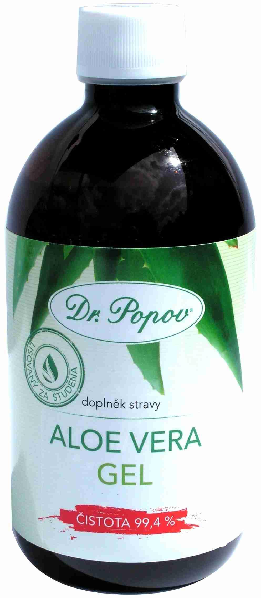 DR. POPOV Aloe Vera gel 500 ml